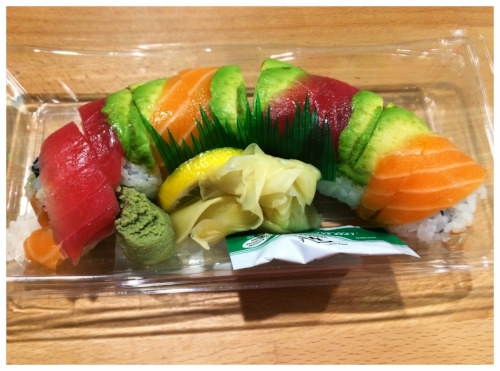 9A - Sushi, because, why not?