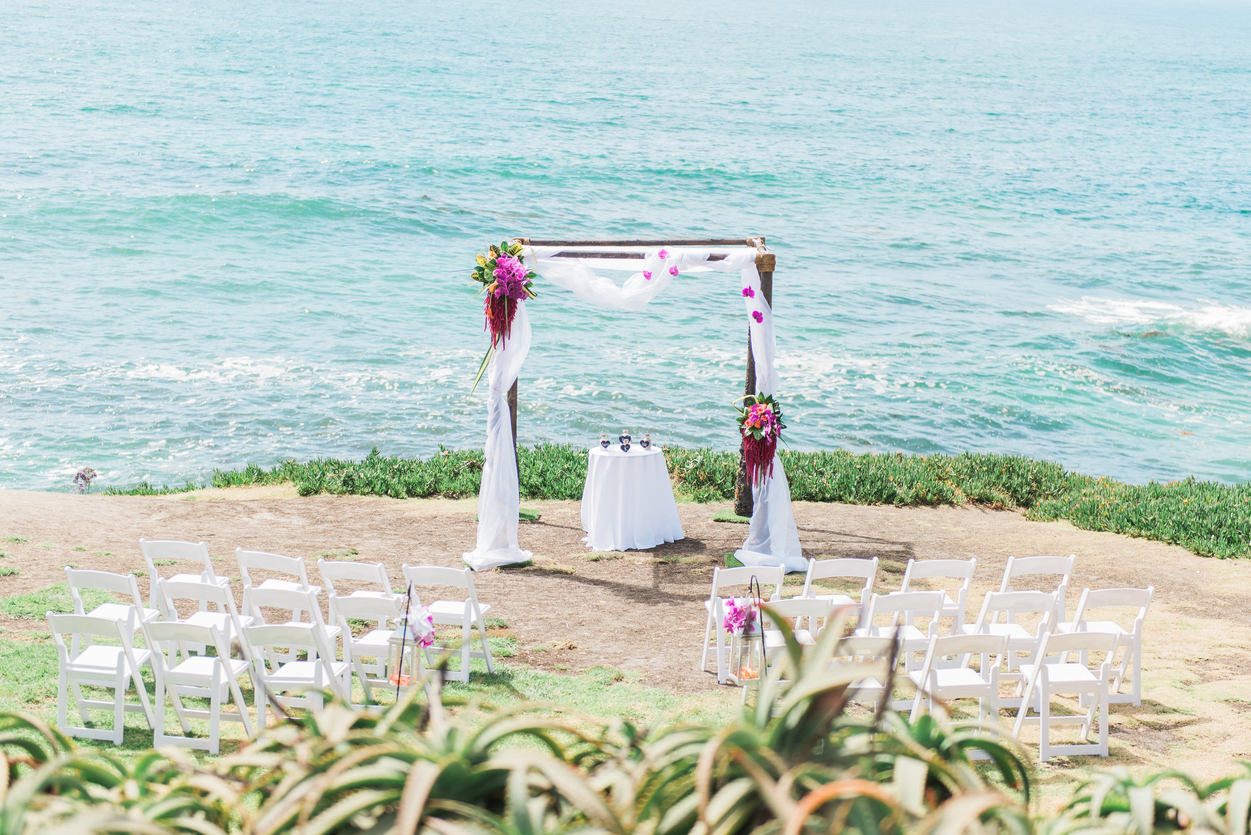 Lindsay Brian Intimate Beach Wedding On The La Jolla