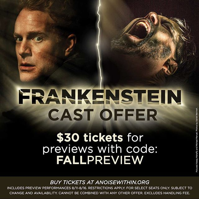 My next adventure is with @anoisewithin ! So excited to be working with this team and designing the Creature for this show! Come see it! . . #theater #creature #mua #makeup #makeudesigner #frankenstein #anoisewithin #theatermakeup