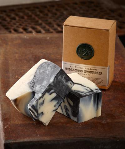Cedarwood Stout Soap