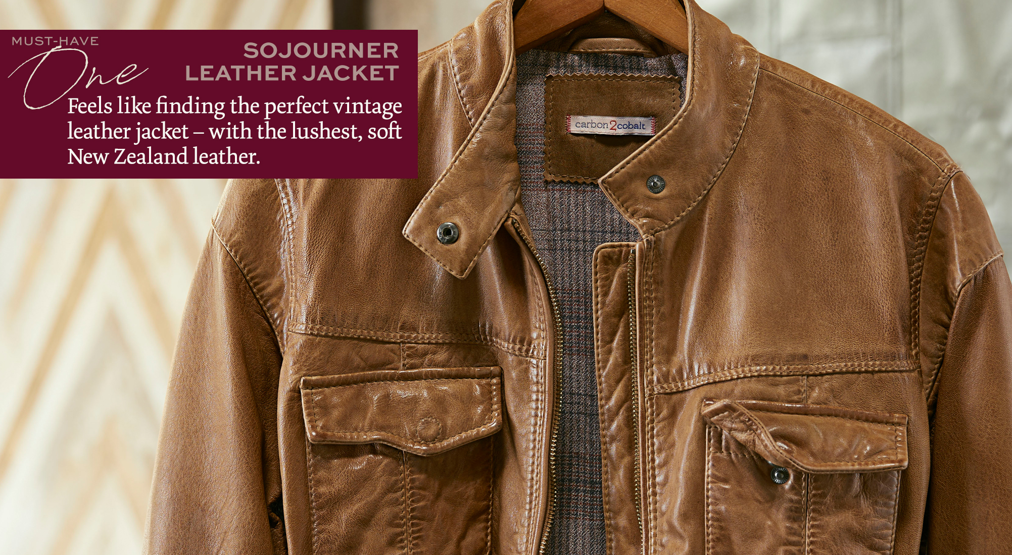 Sojourner Leather Jacket