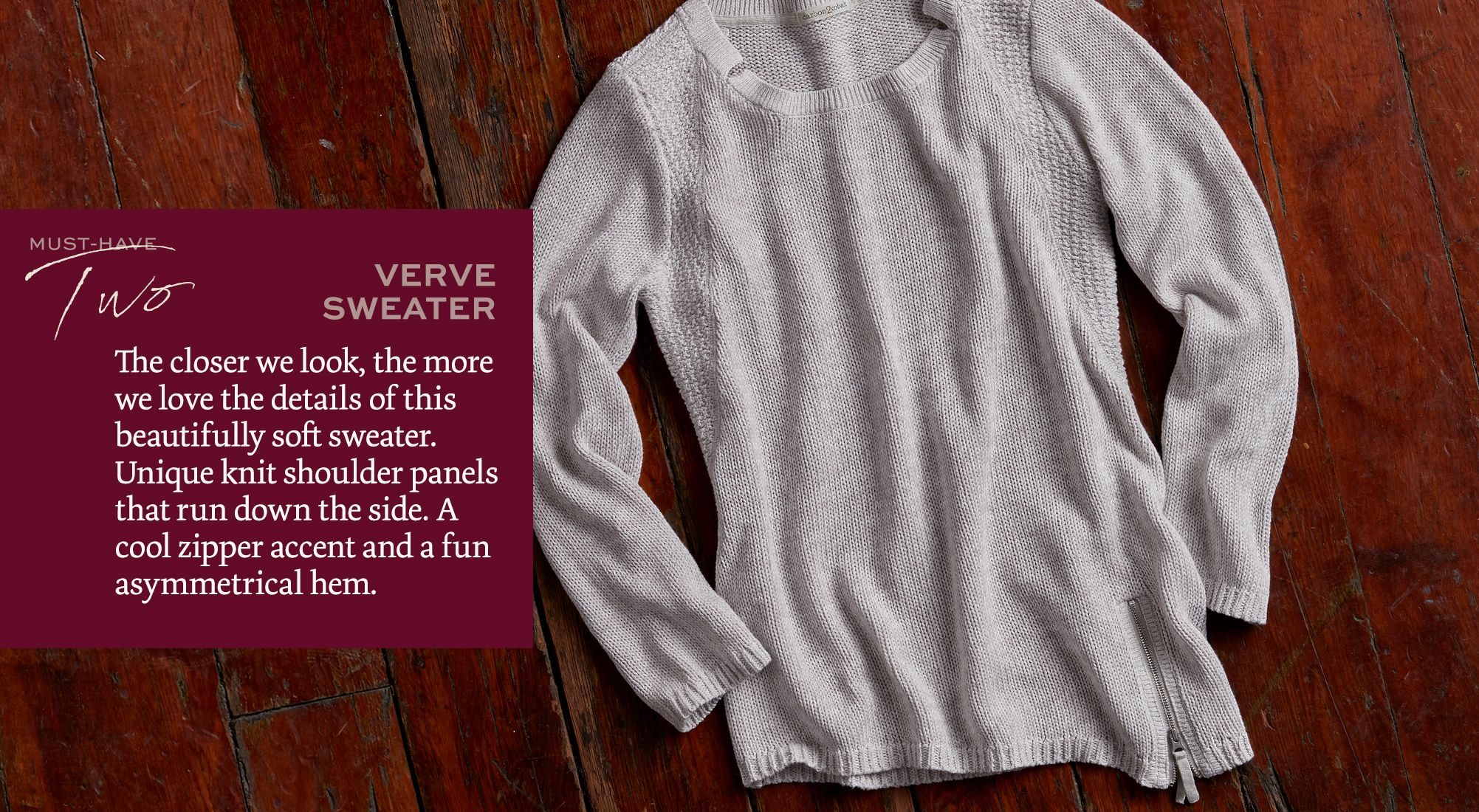 Verve Sweater