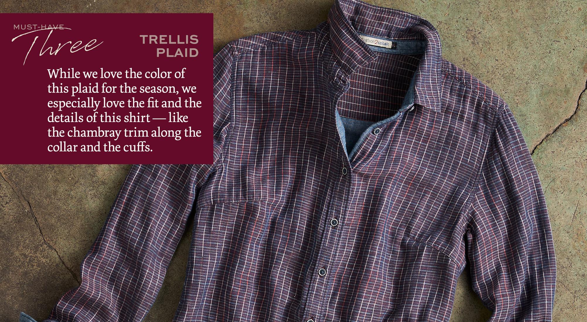 Trellis Plaid