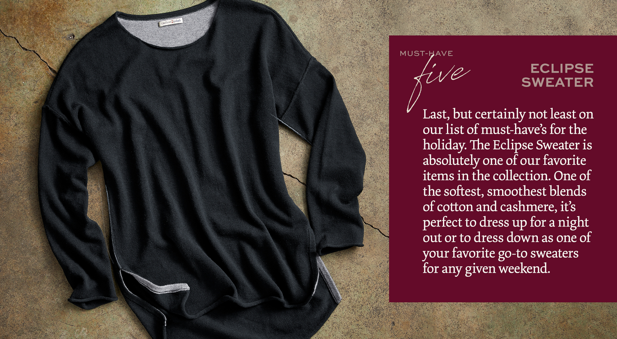 Eclipse Sweater