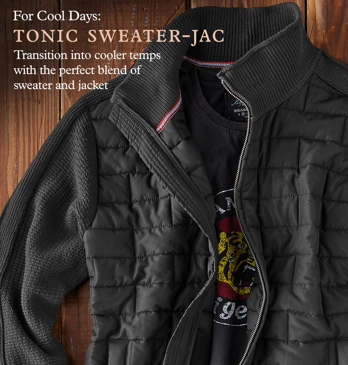 Tonic Sweater-Jac