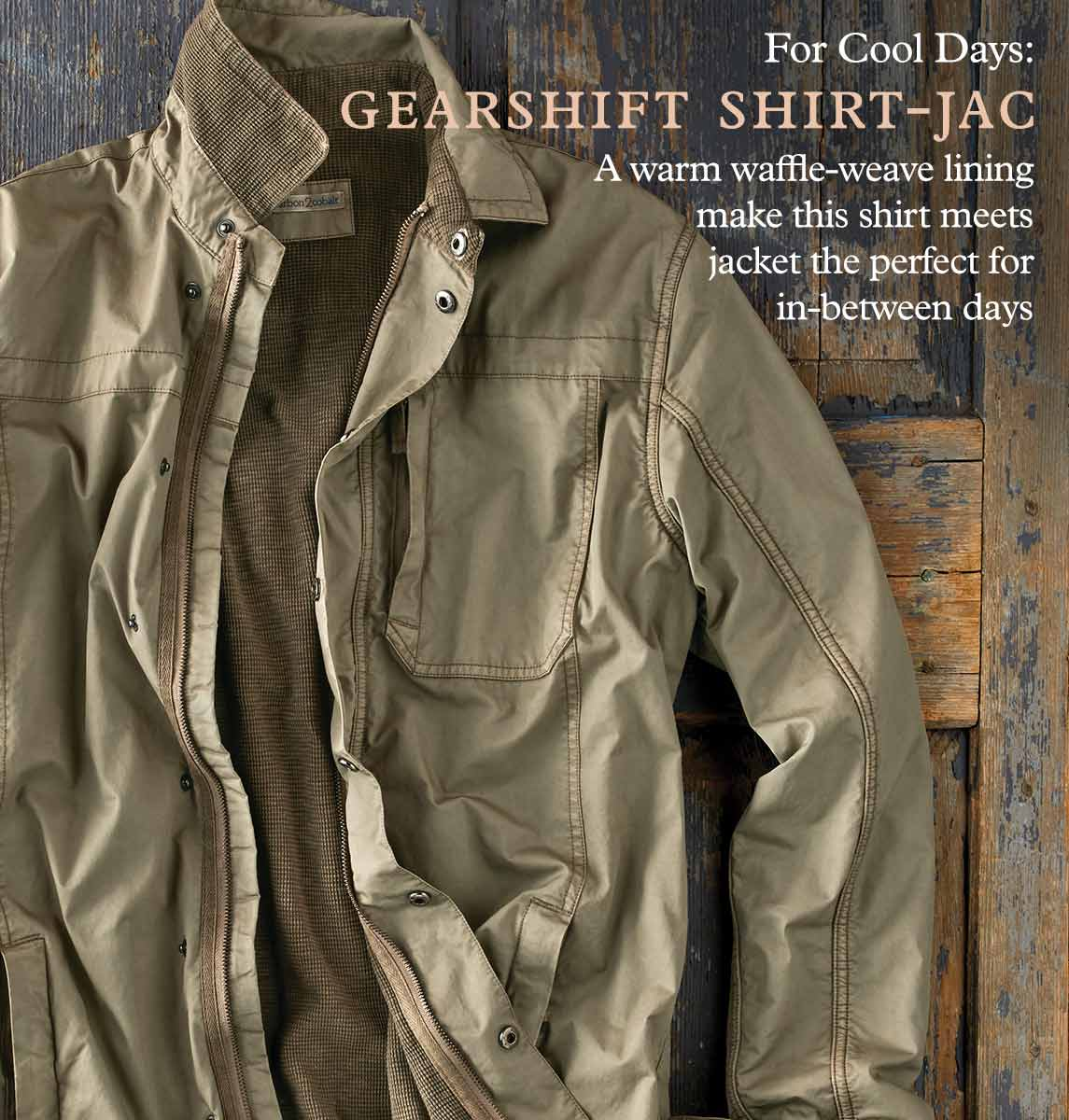 Gearshift Shirt-Jac