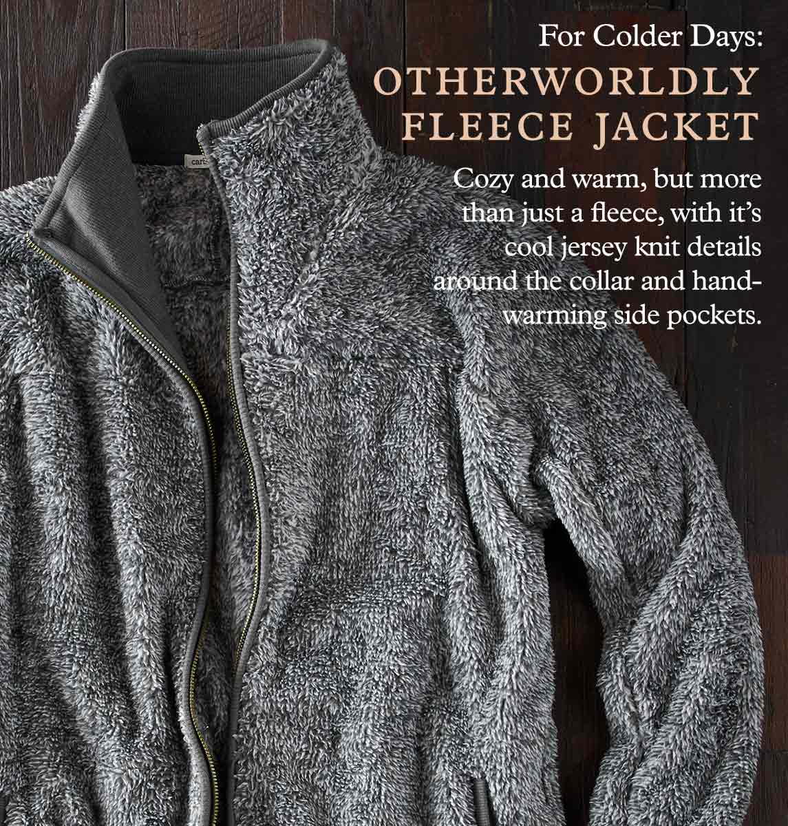 Otherworldly Fleece Jacket