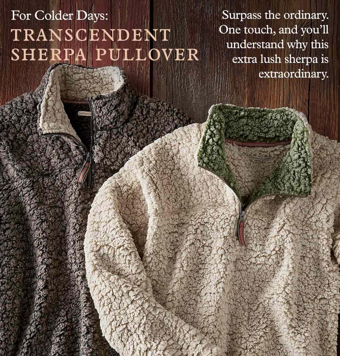 Transcendent Sherpa Pullover
