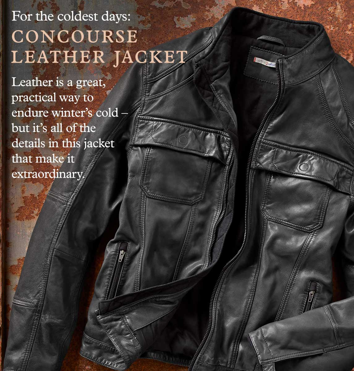 Concourse Leather Jacket