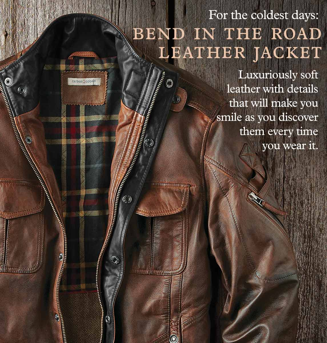 Bend In The Road Leather Jacket