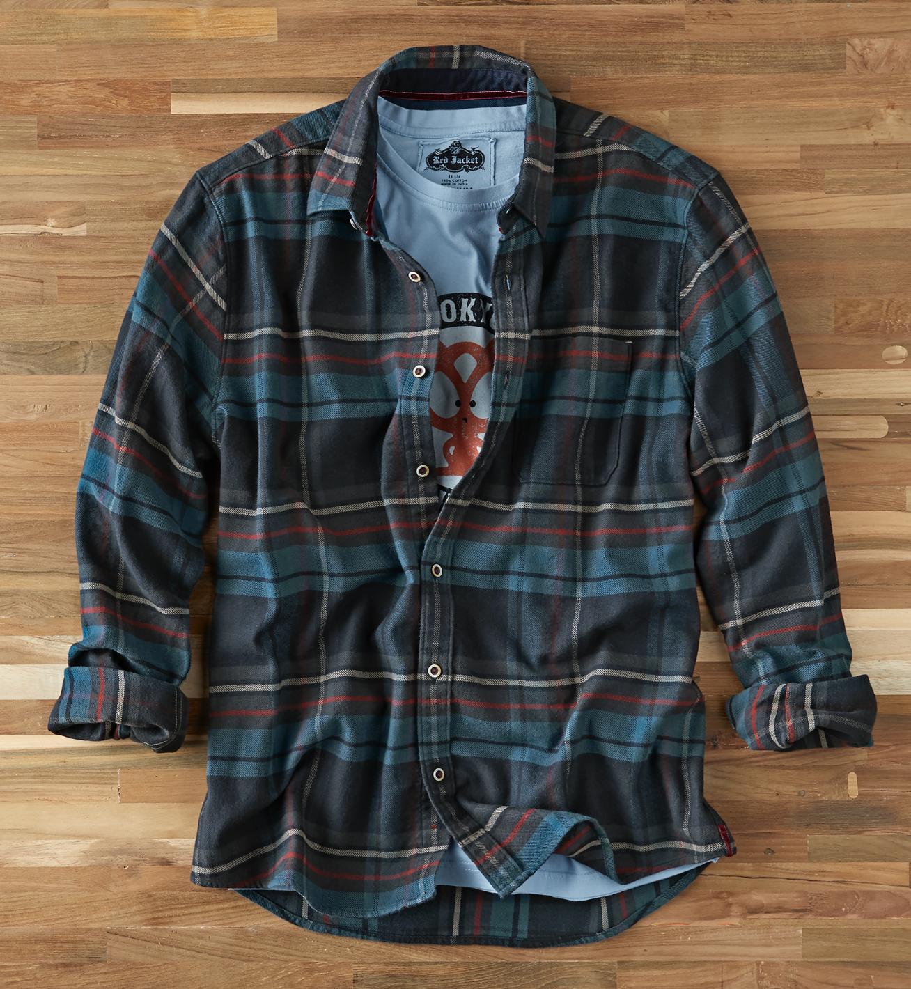 Men's Chalkboard Plaid Shirt