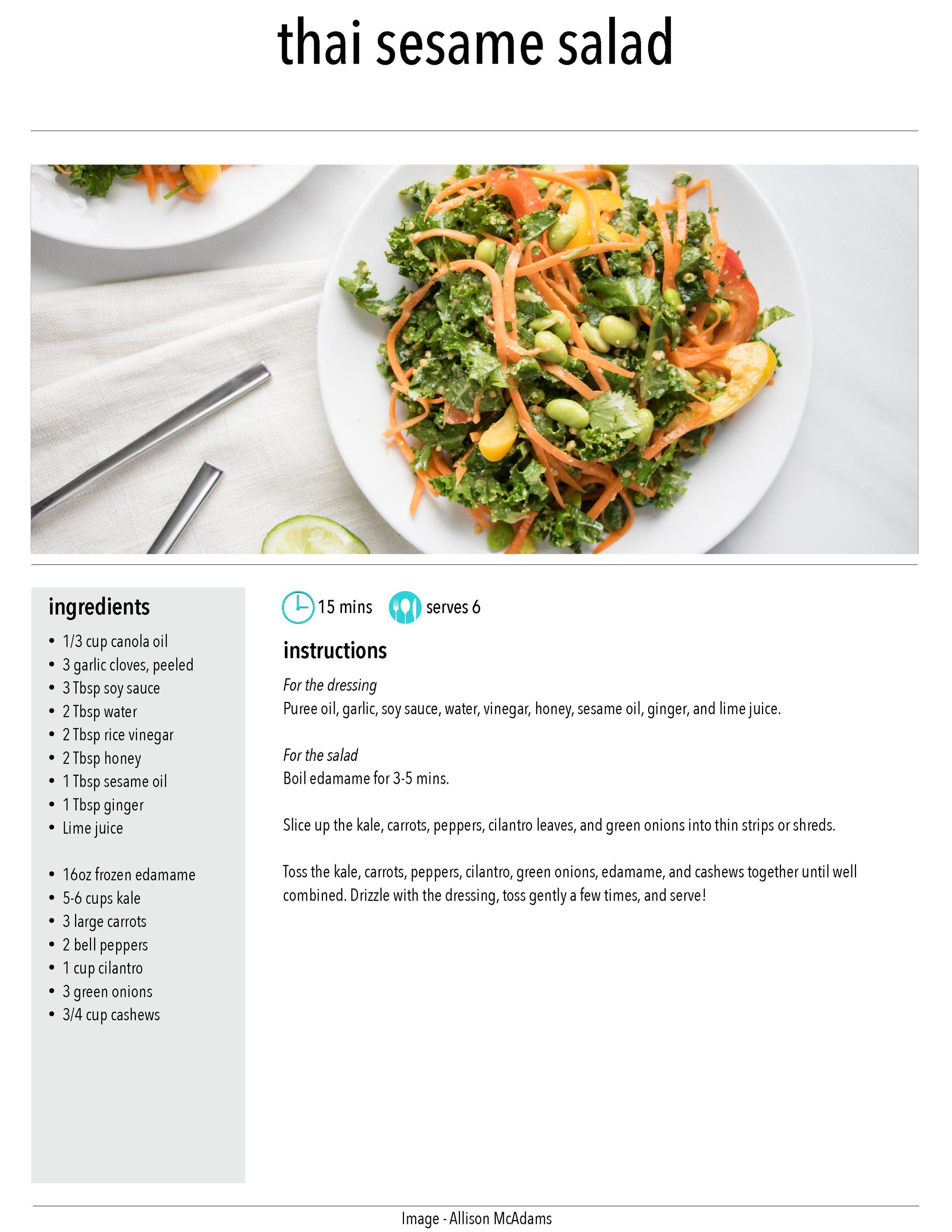 Thai Seame Salad