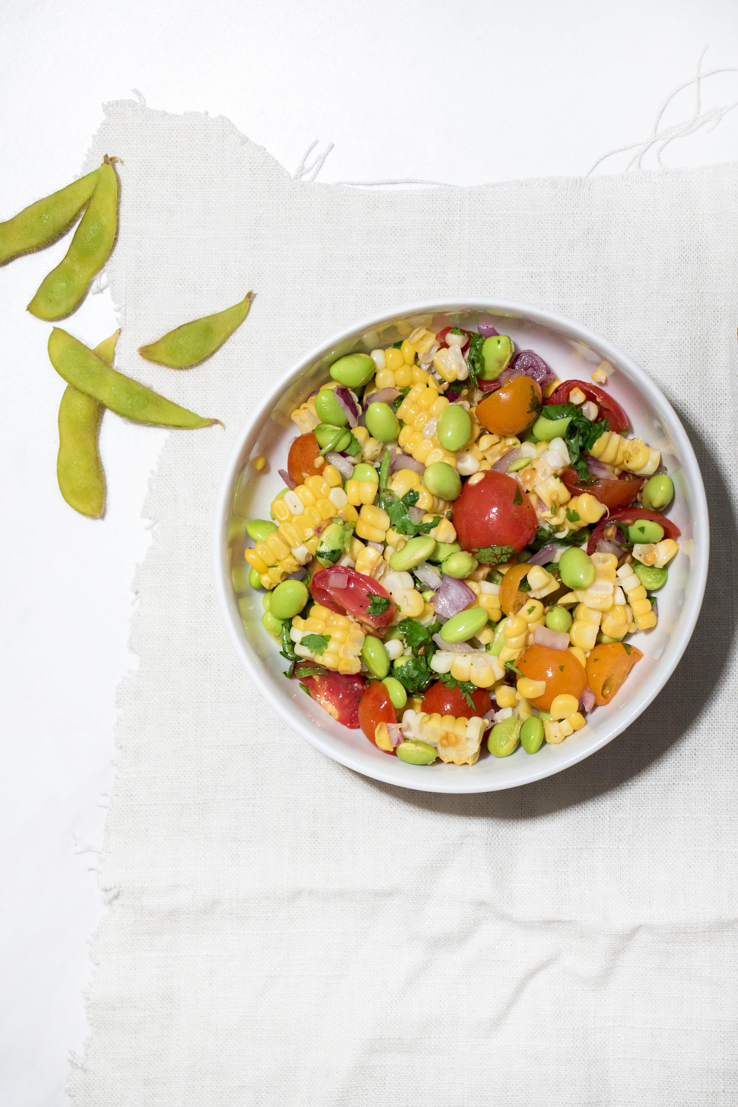 Cincinnati Food Photographer | Edamame Salad | Allison McAdams 2.jpg