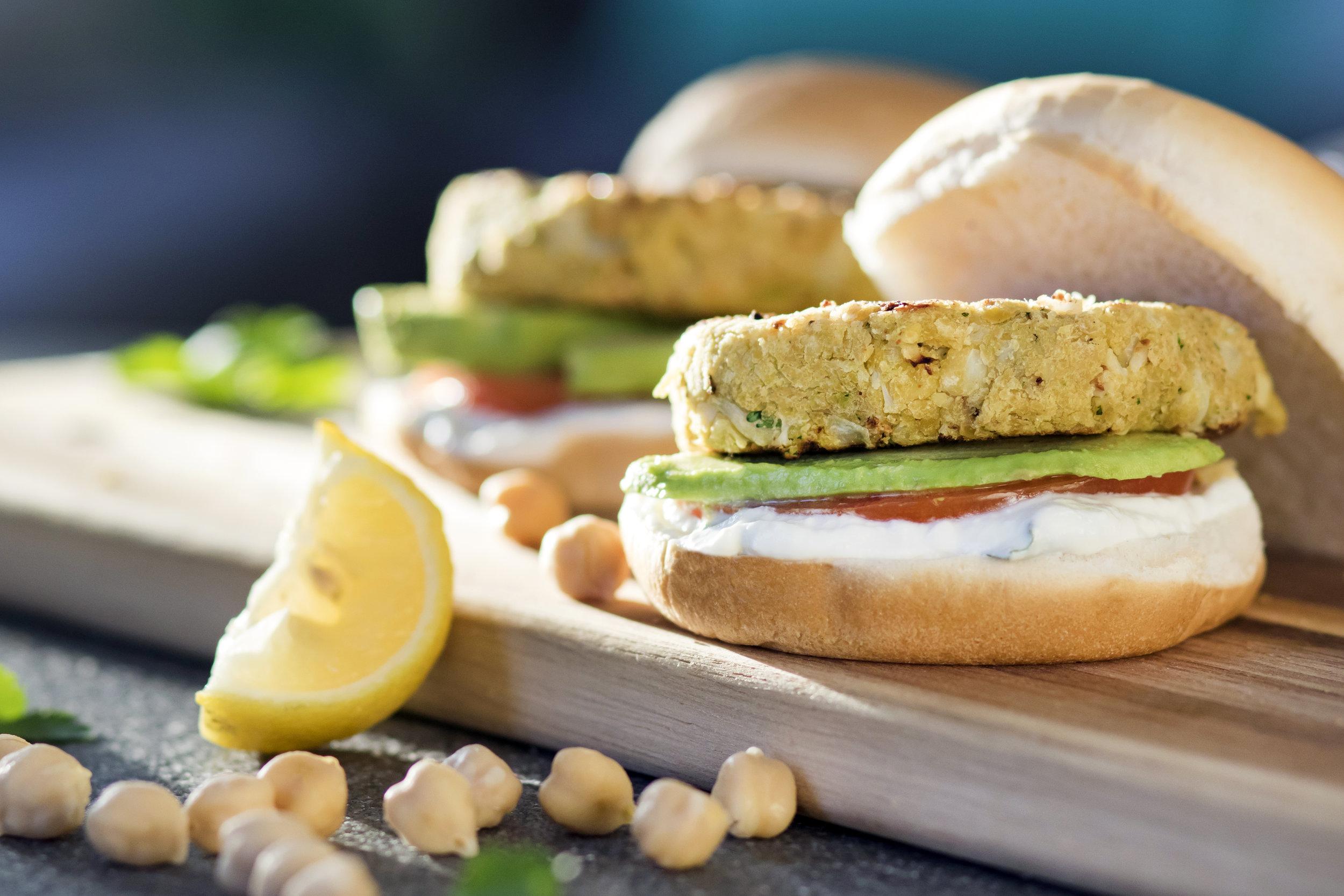 Cincinnati Food Photographer | Kikkoman | Cauliflower Chickpea Burger | Cincinnati | Allison McAdams.jpg