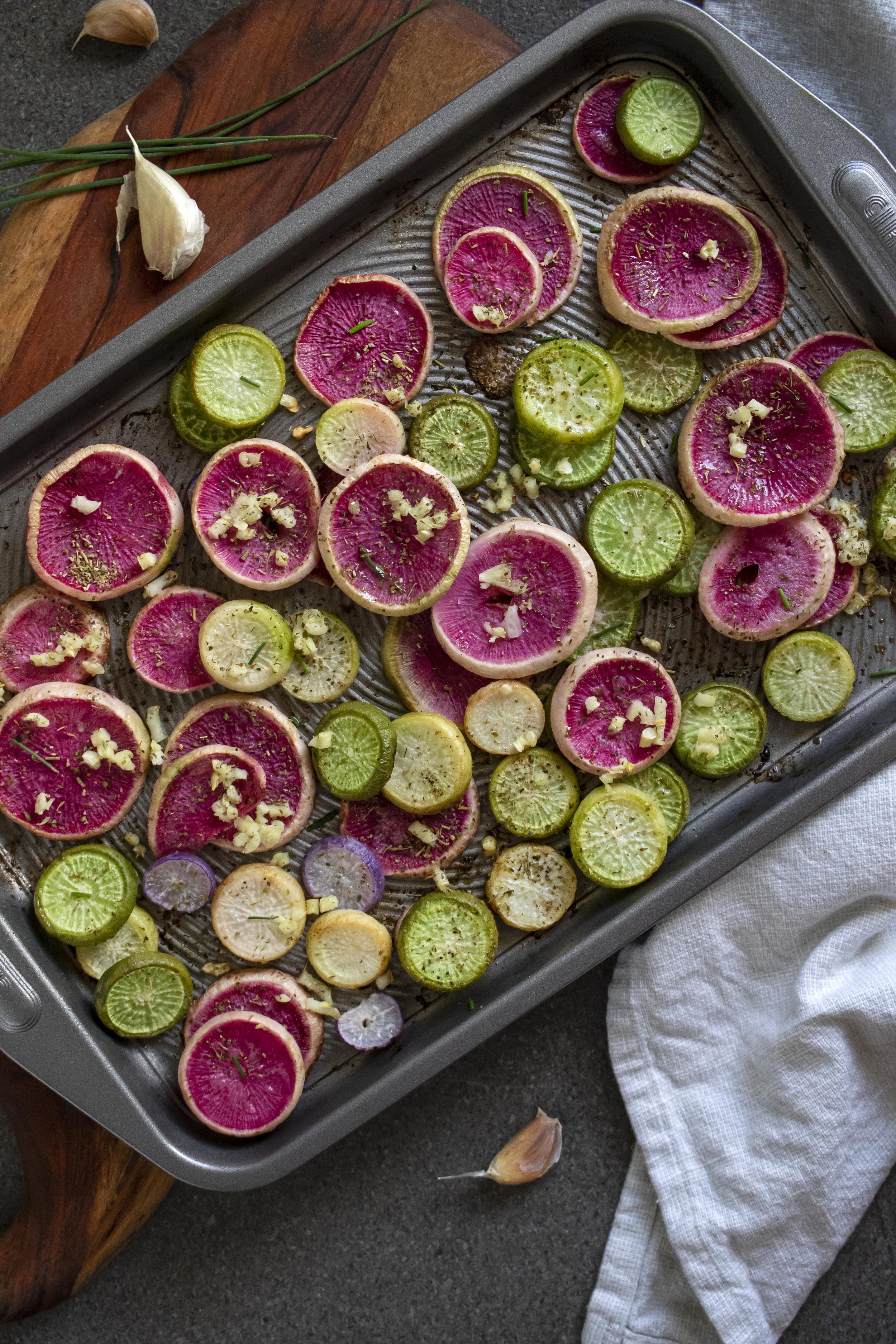 Roasted Radishes | Cincinnati Food Photographer | Food Photographer | Allison McAdams.JPG