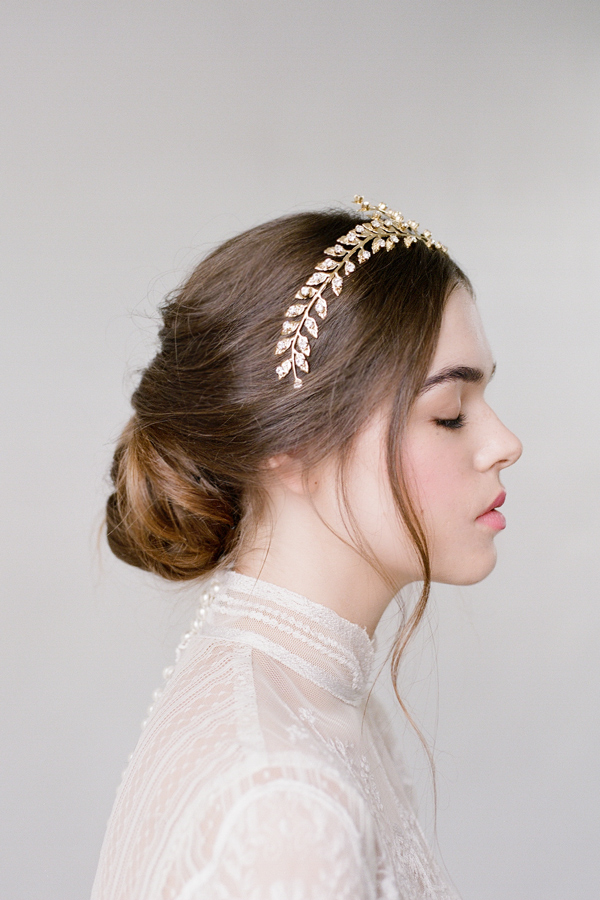 CATHERINE GOLD HAIR WREATH BRIDAL HEADPIECE III.jpg