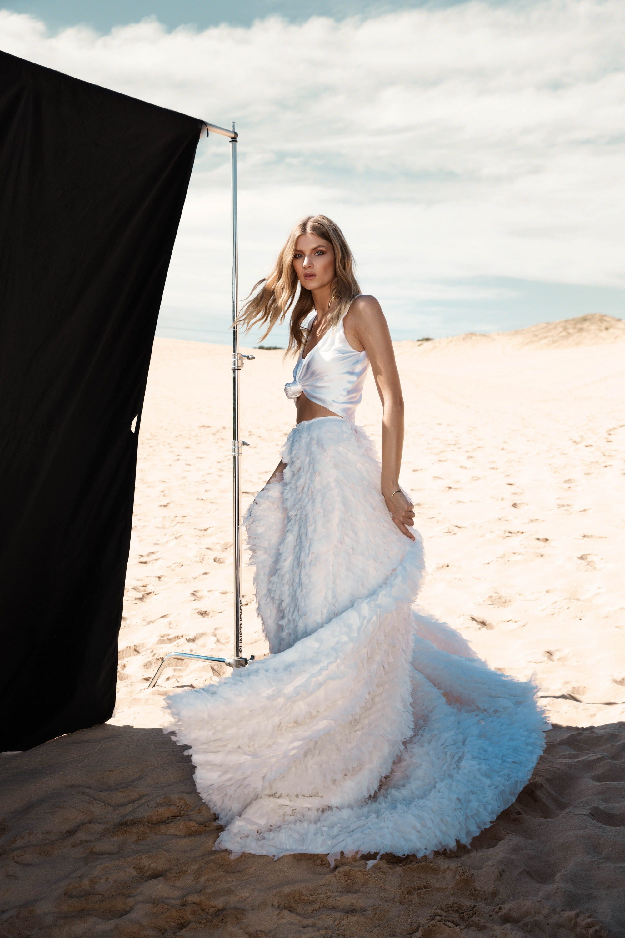 LOVE FIND CO. // ONE DAY BRIDAL 'Blessed Are The Curious' - Calli Top and Skirt