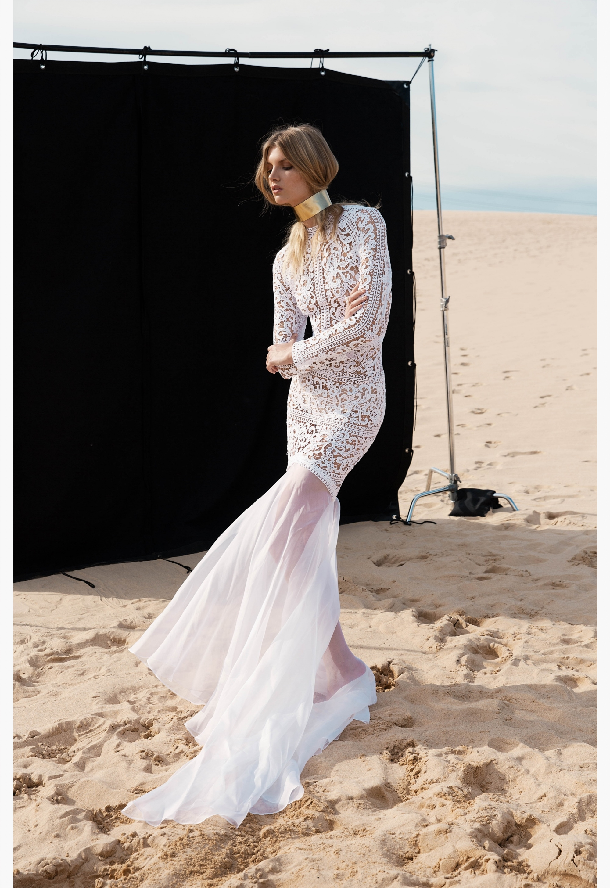 LOVE FIND CO. // ONE DAY BRIDAL 'Blessed Are The Curious' - Emmy Gown