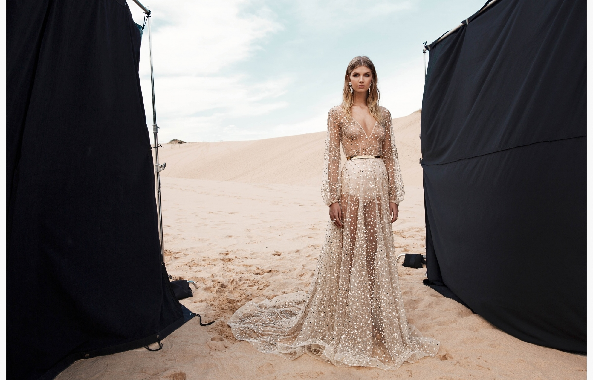 LOVE FIND CO. // ONE DAY BRIDAL 'Blessed Are The Curious' - Nala Gown