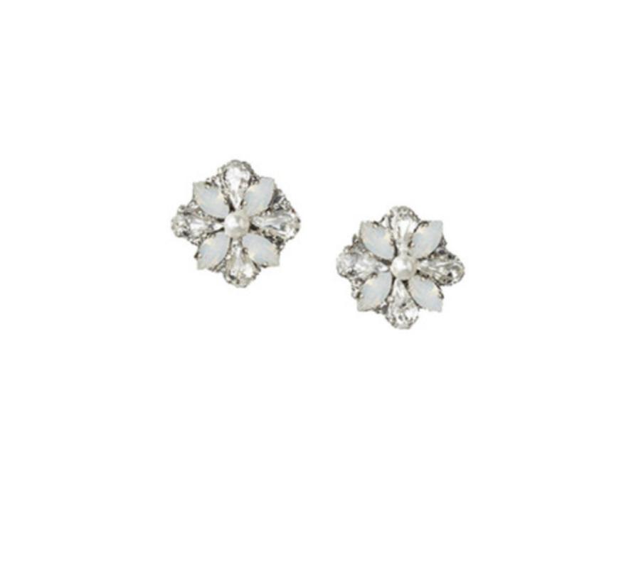 LOVE FIND CO. // Elizabeth Bower Della Opal Stud Earrings