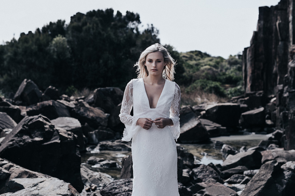 LOVE FIND CO. // Prea James Campaign // The Lani Gown