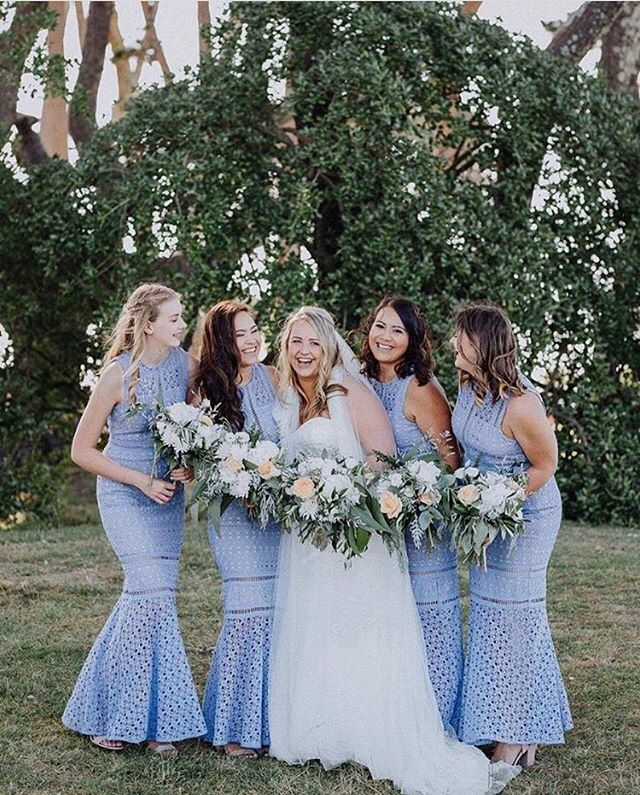 @whiterunway Beautiful #bridesmaids in our Garland Lace Maxi #whiterunway #realrunway.jpg