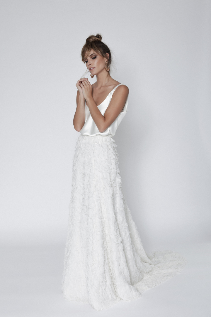 The Calli Top & Skirt by Chosen By One Day Bridal | LOVE FIND CO.