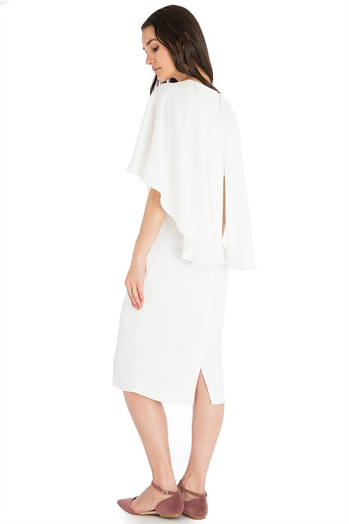 Wedding Dress Designer | Carla Zampatti - White Crepe Cloud Nine Dress | Love Find Co.