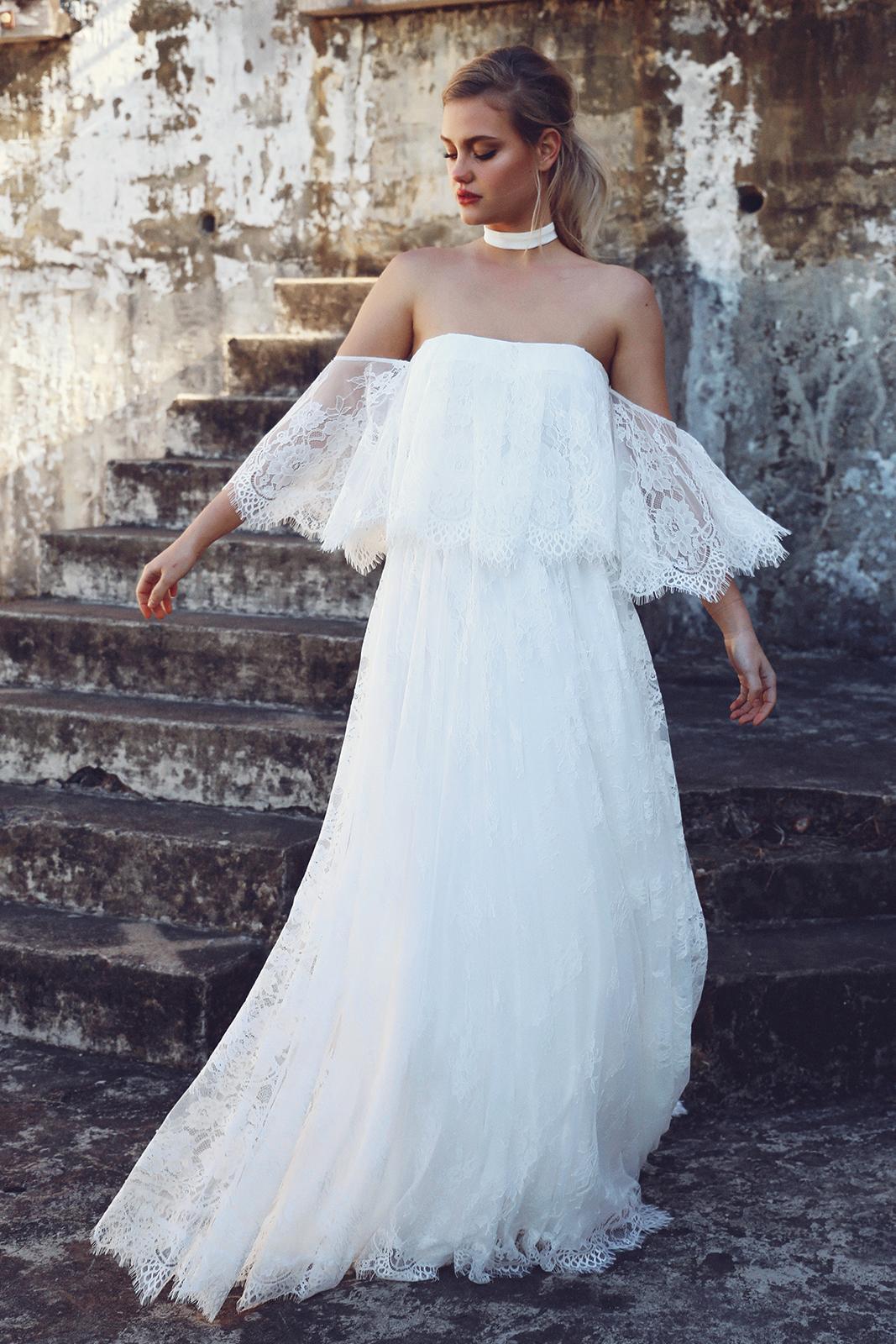 Wedding Dress Designer | Grace Loves Lace Florence Gown | Love Find Co.