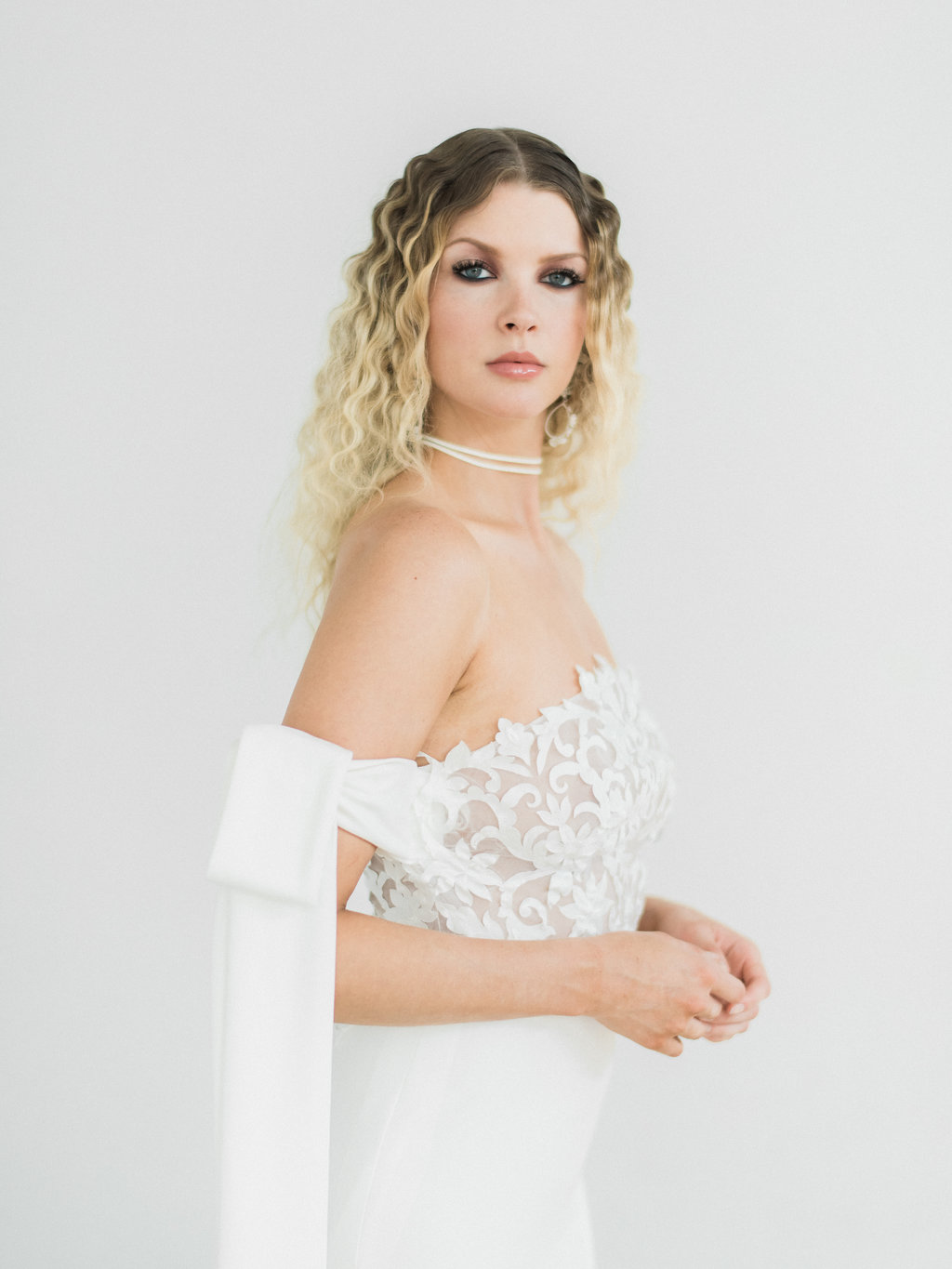 The 'La Rose D'Hiver' Bridal Collection by Delila Fox | Featured on LOVE FIND CO.