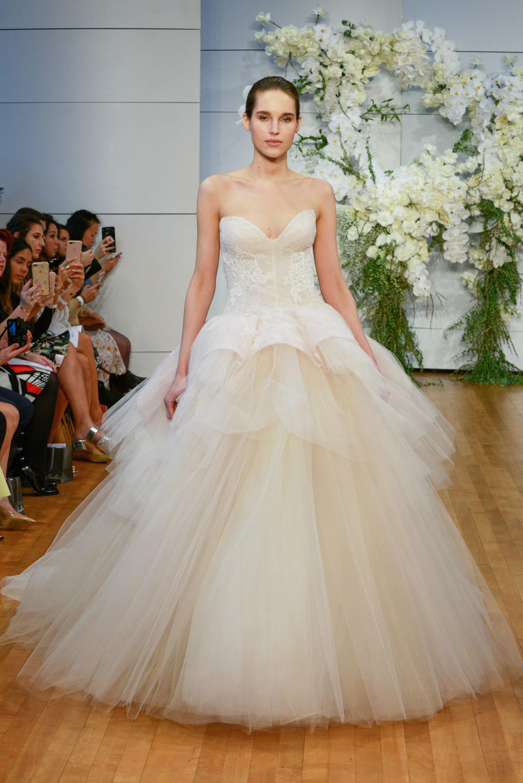 Monique Lhuillier // 2018 Bridal Fashion Week | LOVE FIND CO.