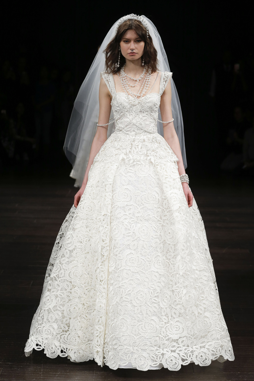 Naeem Khan // 2018 Bridal Fashion Week | LOVE FIND CO.