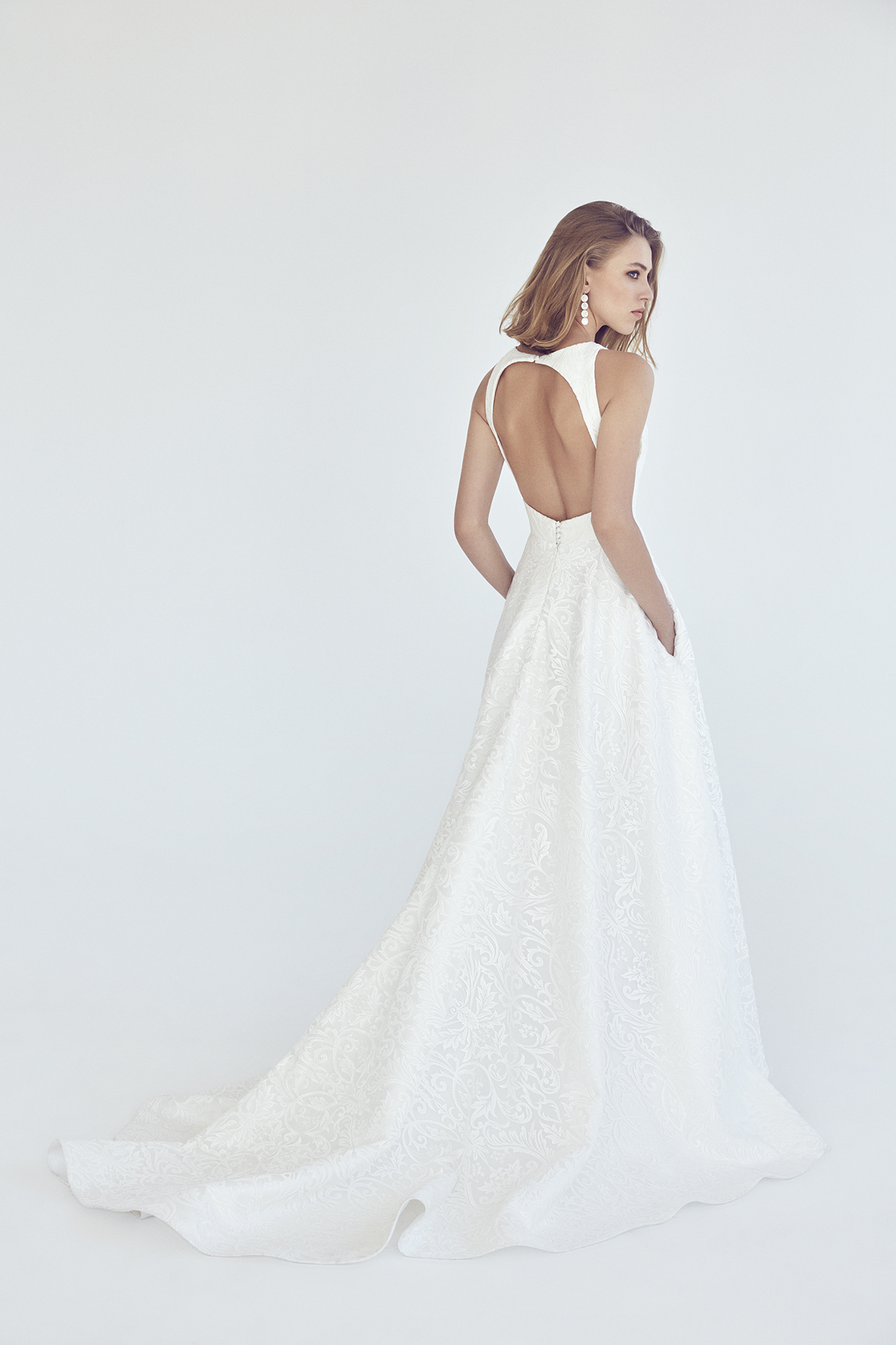 Neptune Gown by Suzanne Harward   LOVE FIND CO.