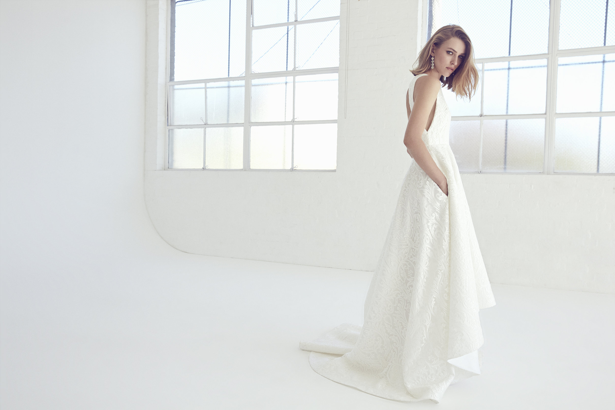 Neptune Gown by Suzanne Harward | As Featured on LOVE FIND CO.