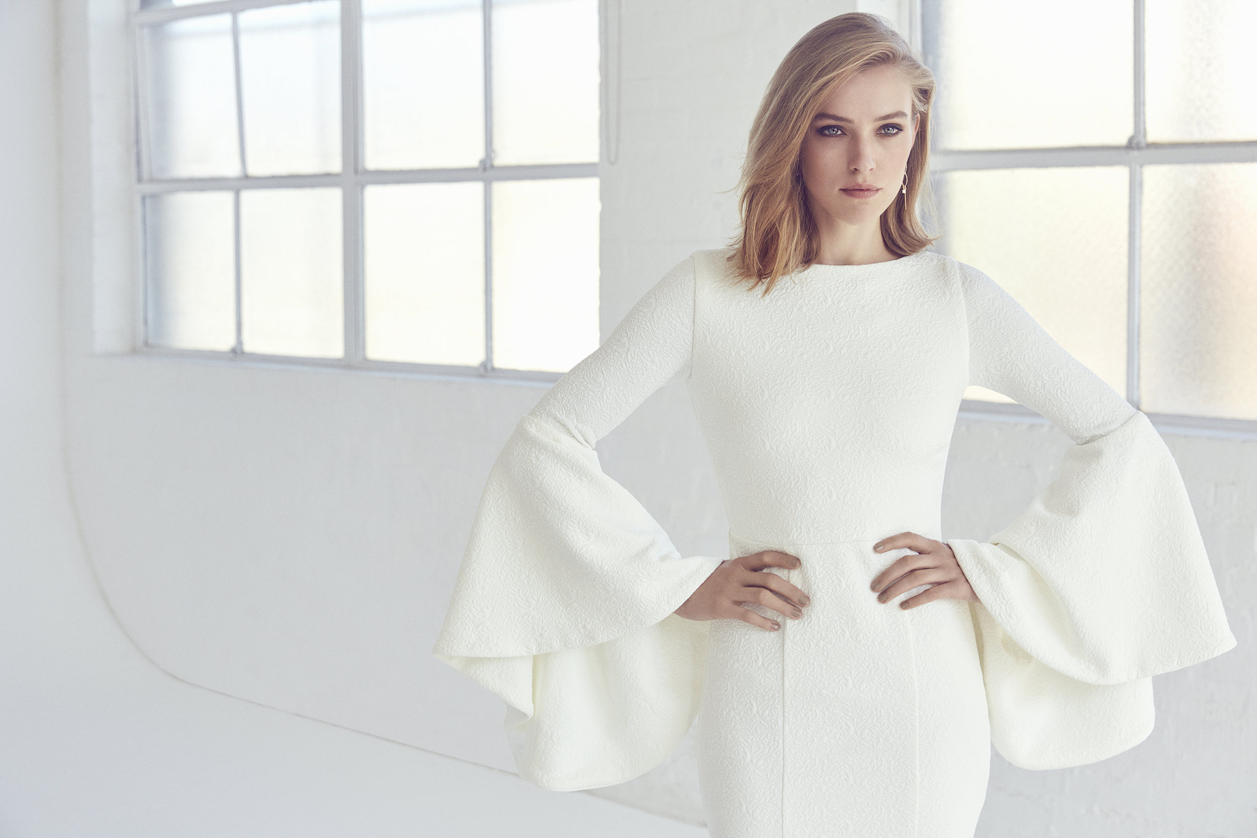 Bell Gown by Suzanne Harward   As Featured on LOVE FIND CO.