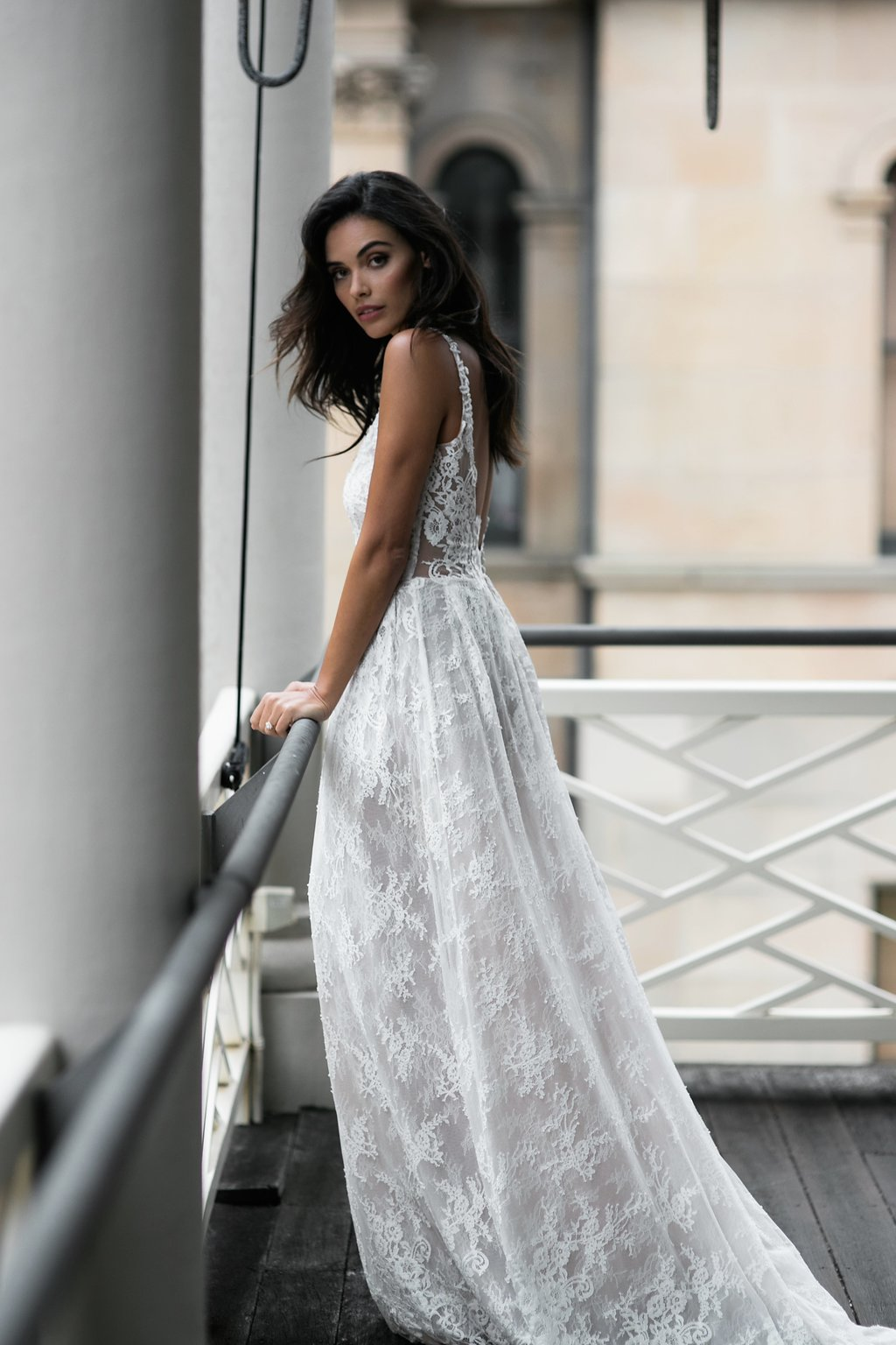 Alice Wedding Dress by Moira Hughes Couture | Featured on Love Find Co.