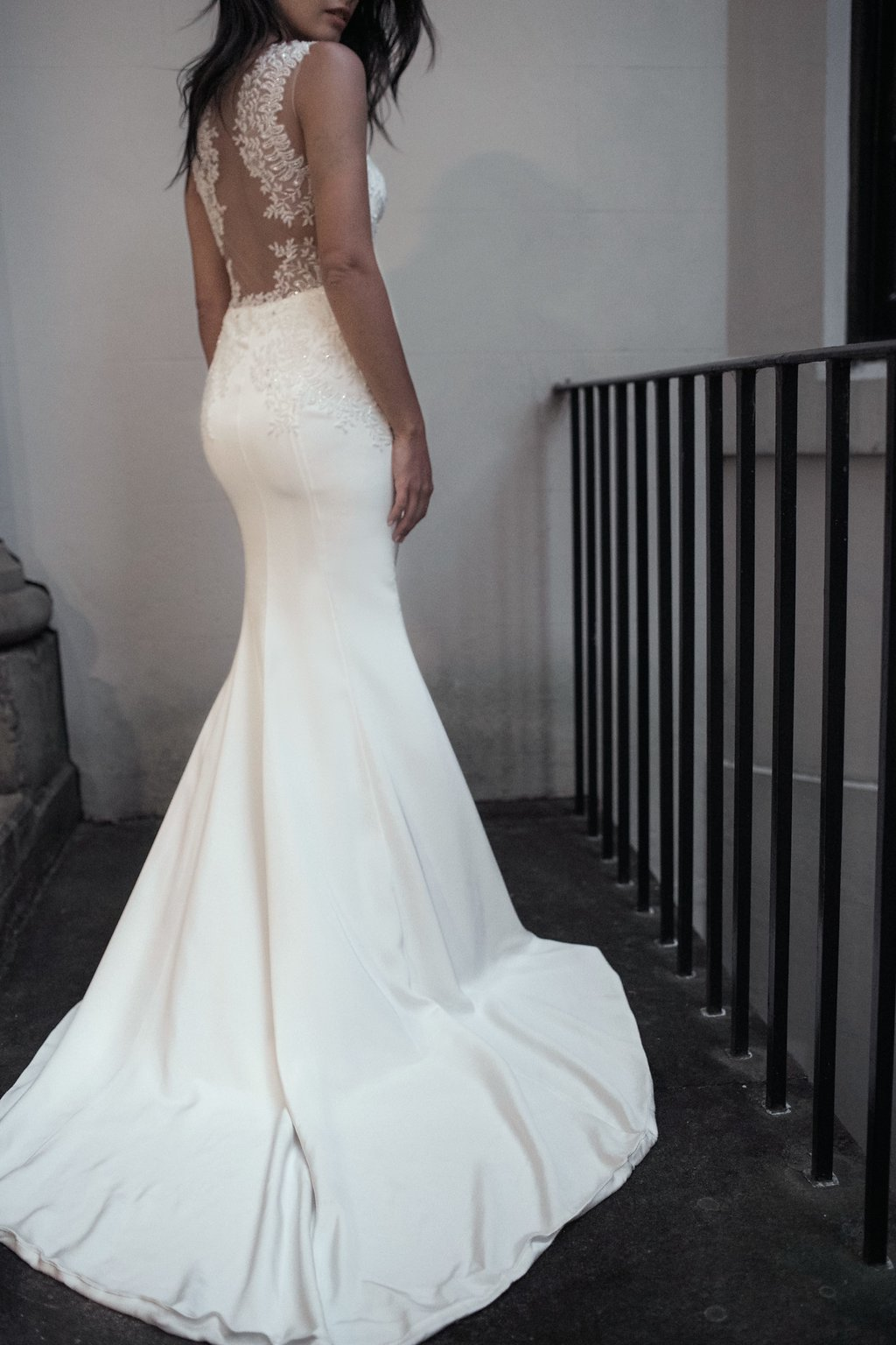 Anya Wedding Dress by Moira Hughes Couture | Featured on Love Find Co.