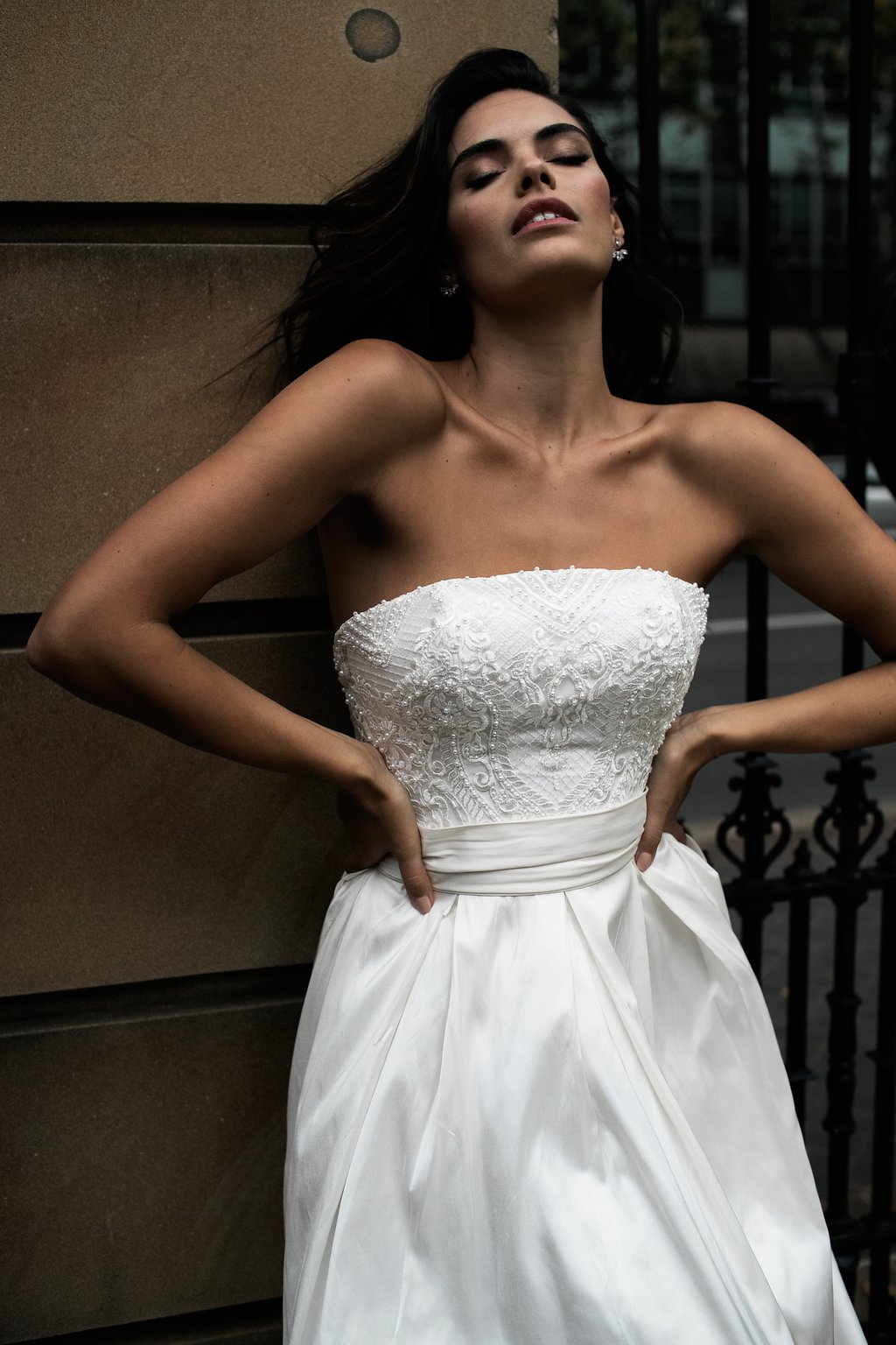 Autumn Wedding Dress by Moira Hughes Couture | Featured on Love Find Co.