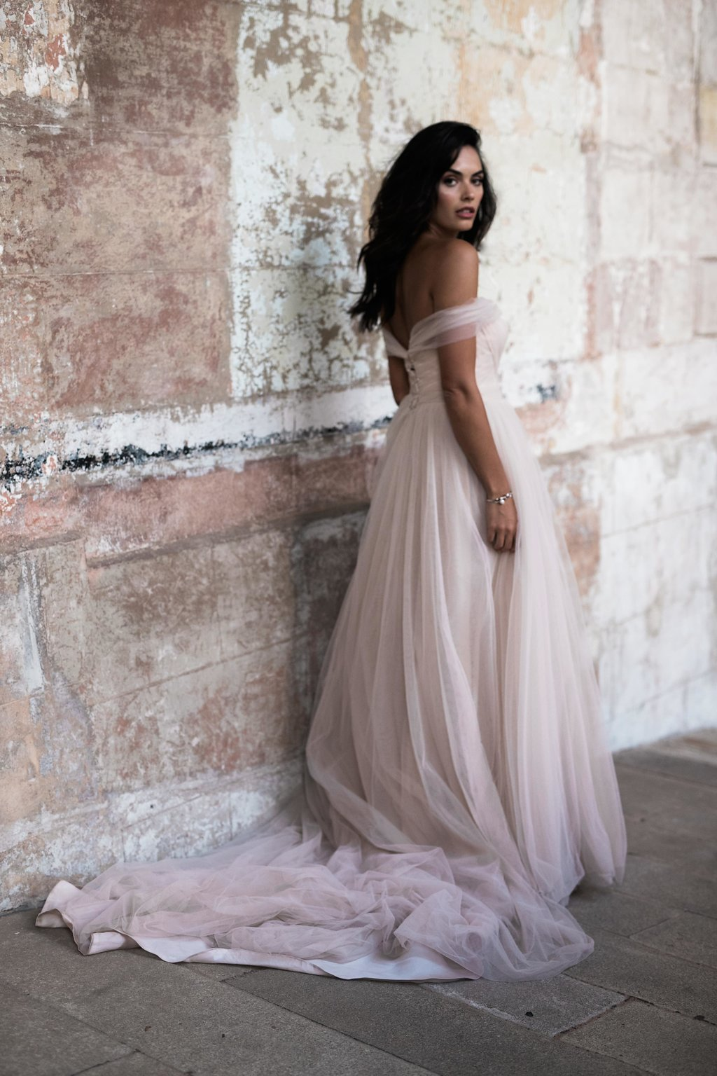 Marella Bridal Dress by Moira Hughes Couture | Featured on Love Find Co.