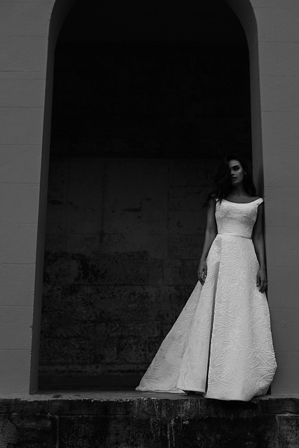 Rose Wedding Dress by Moira Hughes Couture | Featured on Love Find Co.