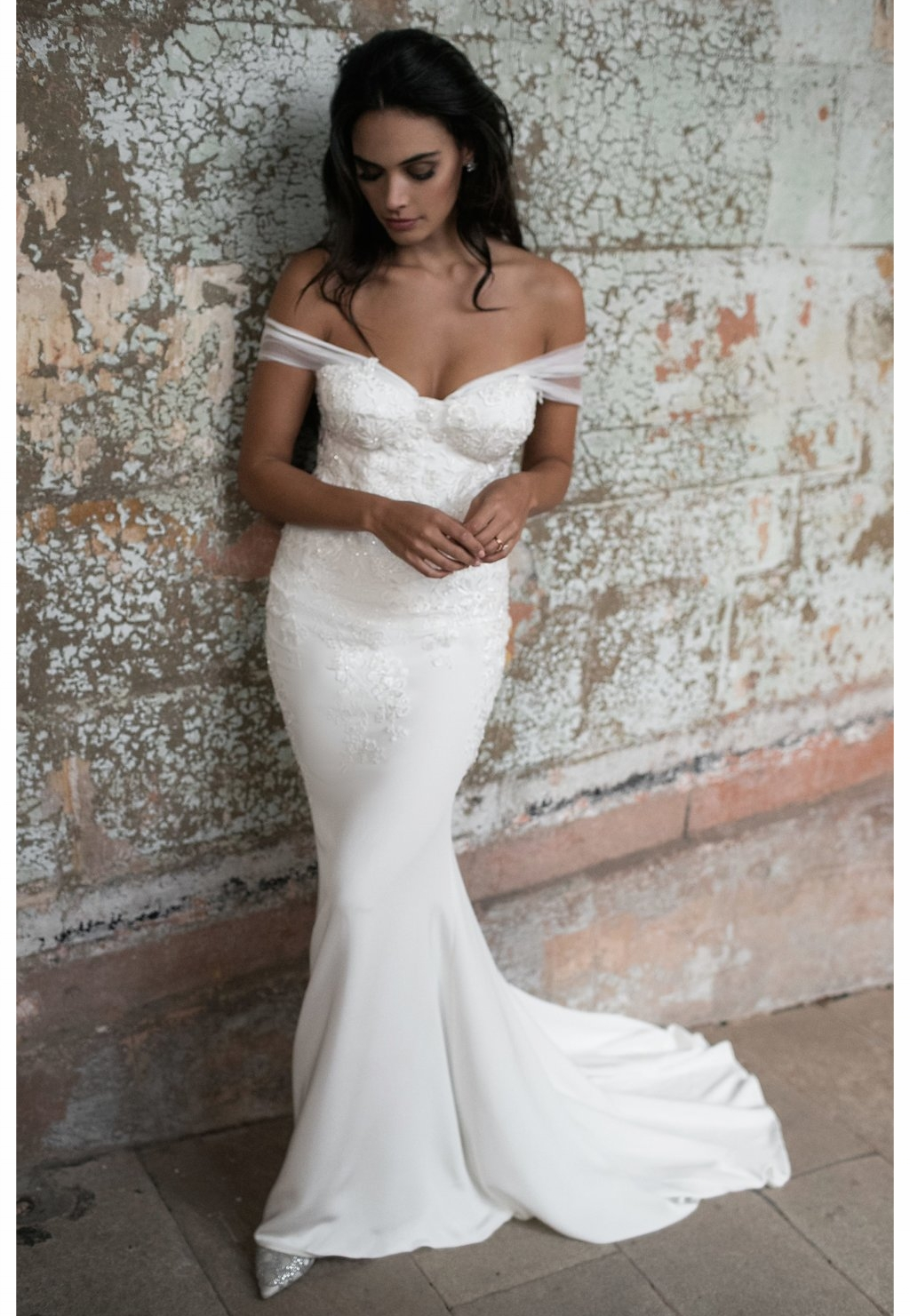 Ivy Bridal Dress by Moira Hughes Couture | Featured on Love Find Co.