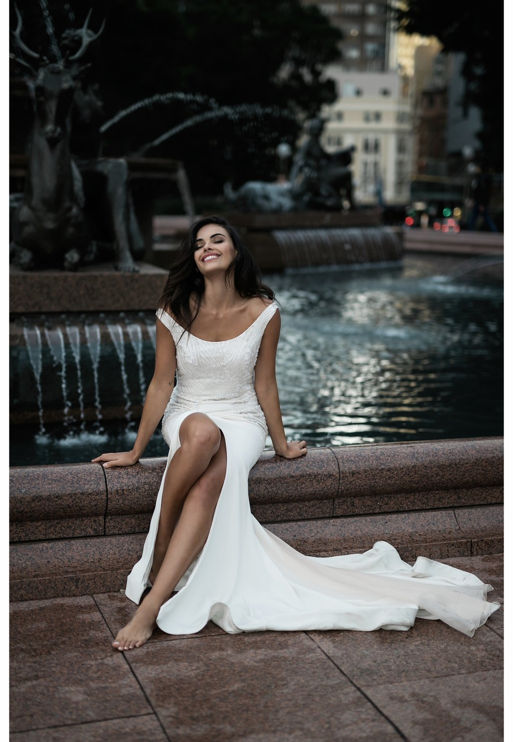 Heather Wedding Dress by Moira Hughes Couture | Featured on Love Find Co.