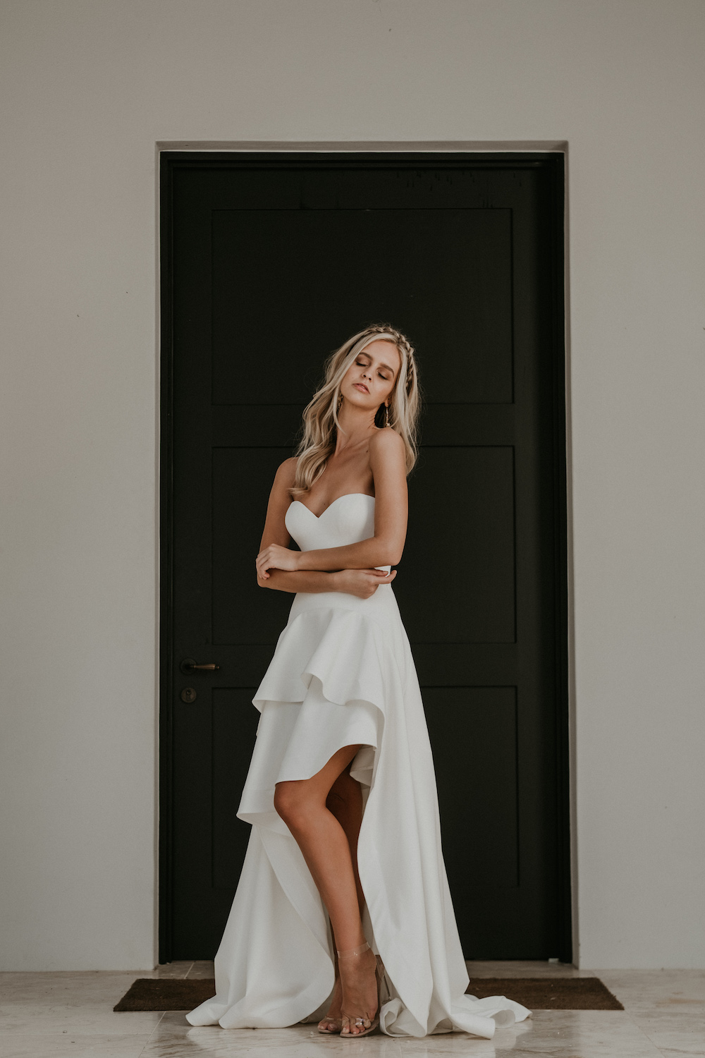 The Arlo wedding dress from Jane Hill Bridal | View on LOVE FIND CO.