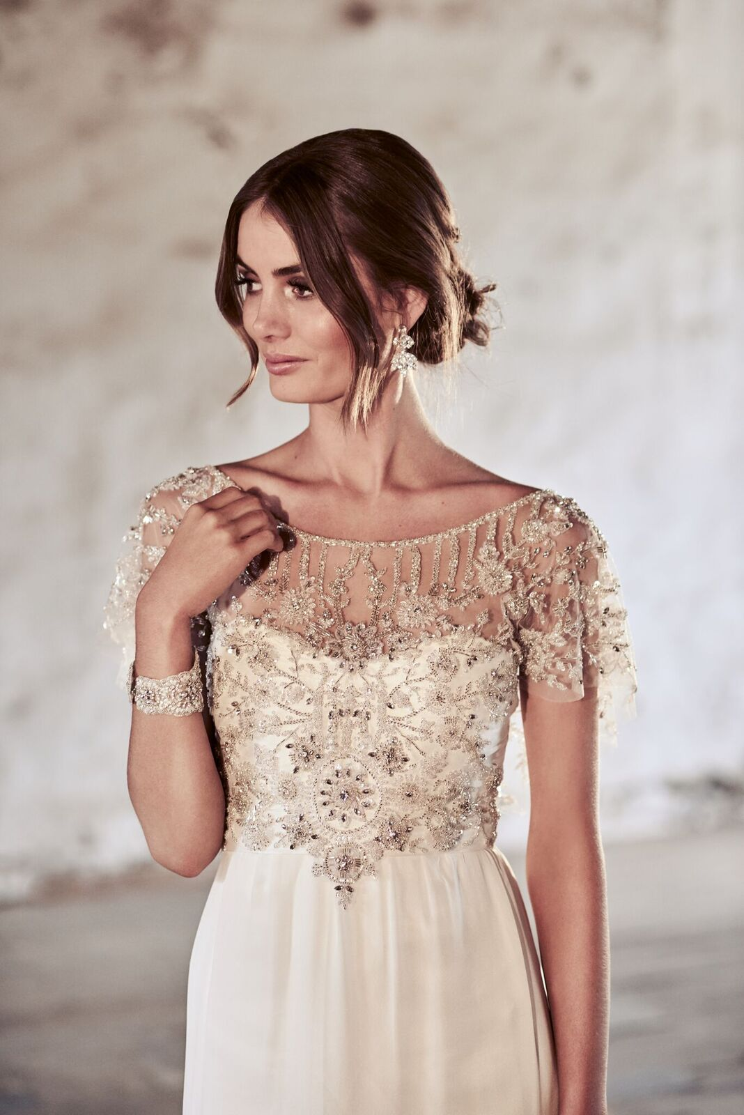Adele Wedding Dress by Anna Campbell | View on LOVE FIND CO.