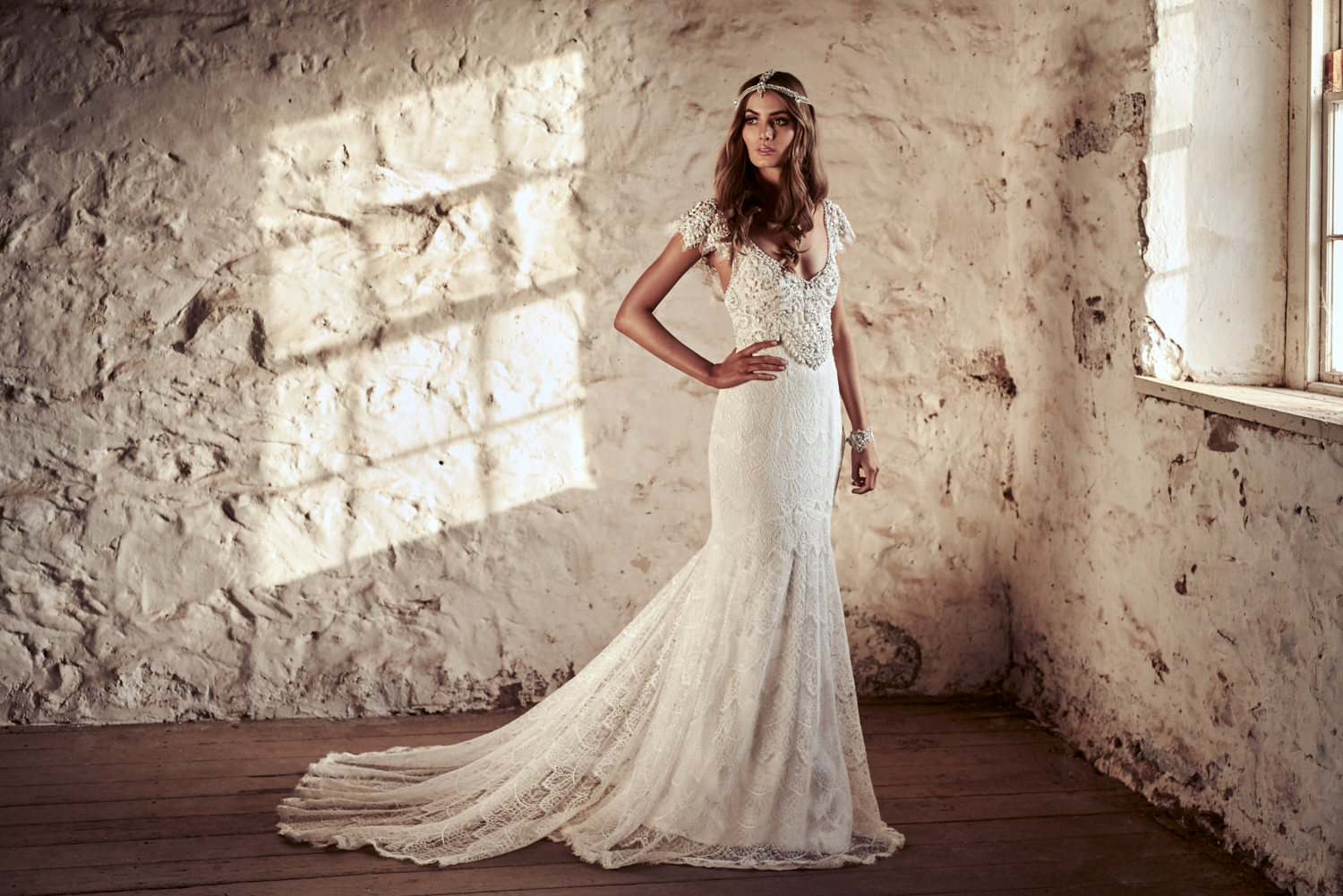 Ruby Wedding Dress by Anna Campbell | View on LOVE FIND CO.