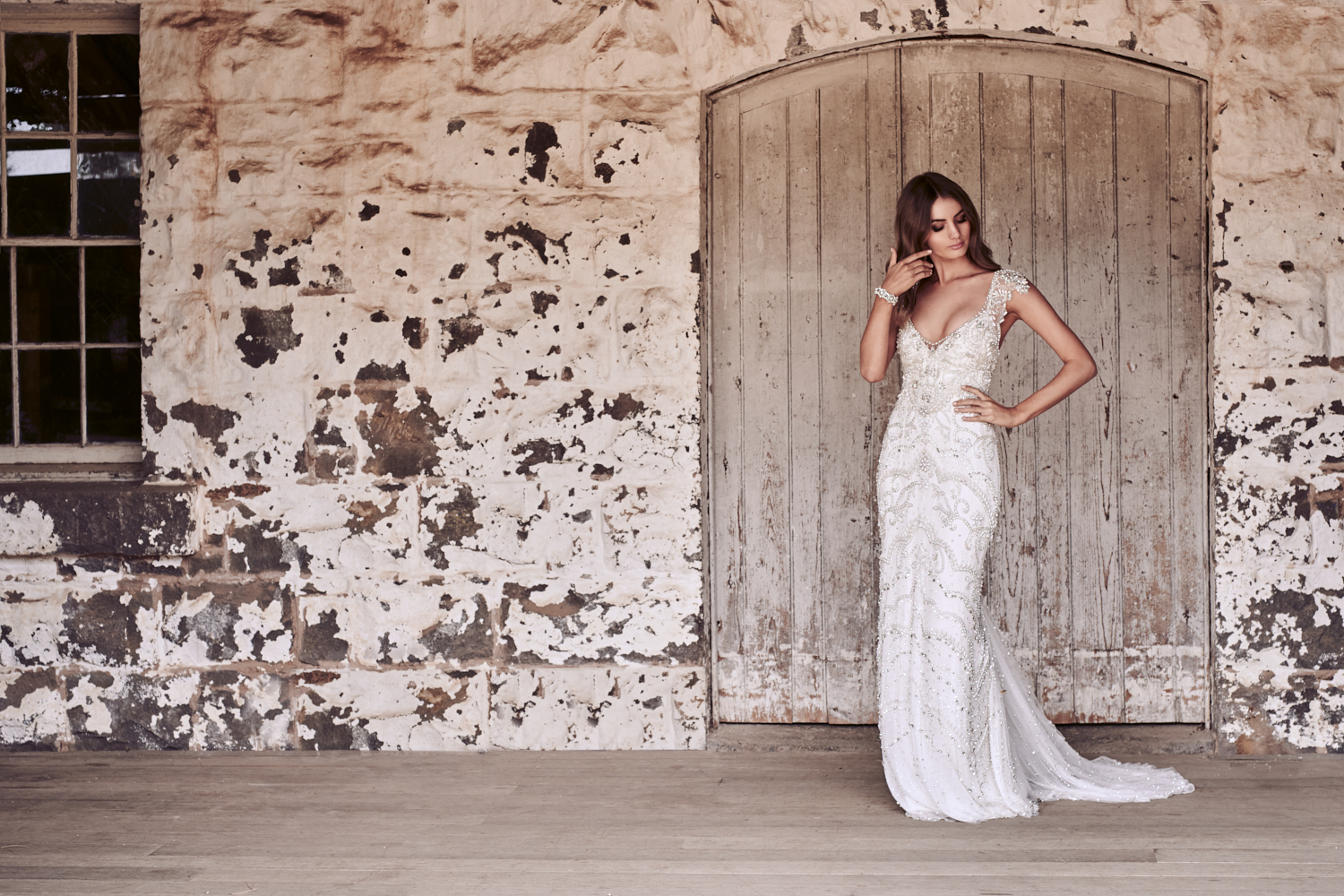 Raine Wedding Dress by Anna Campbell | View on LOVE FIND CO.