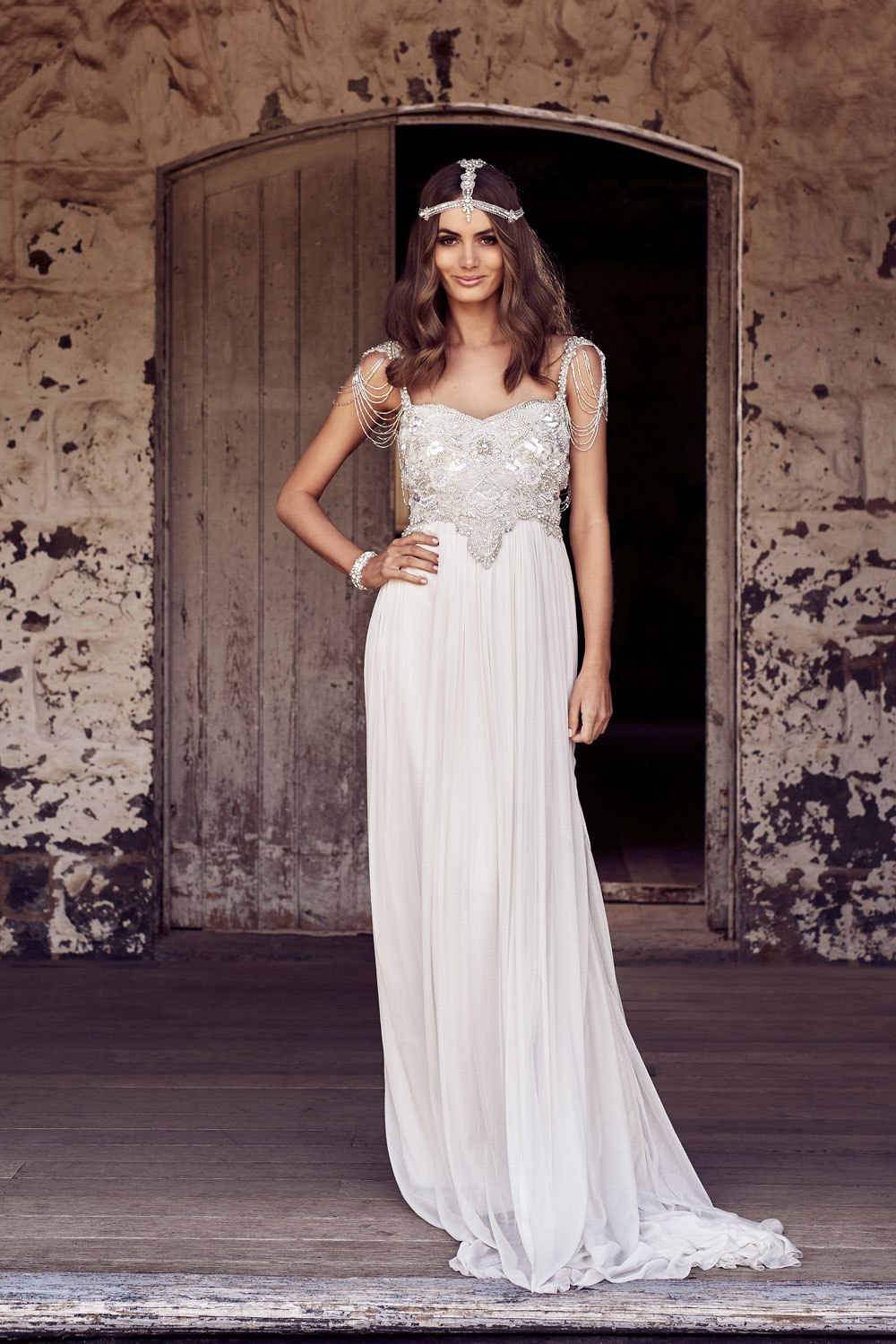 Chloe Wedding Dress by Anna Campbell | View on LOVE FIND CO.