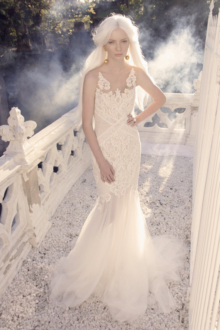 Our Guide To Couture Wedding Dresses - George Wu featured on LOVE FIND CO.