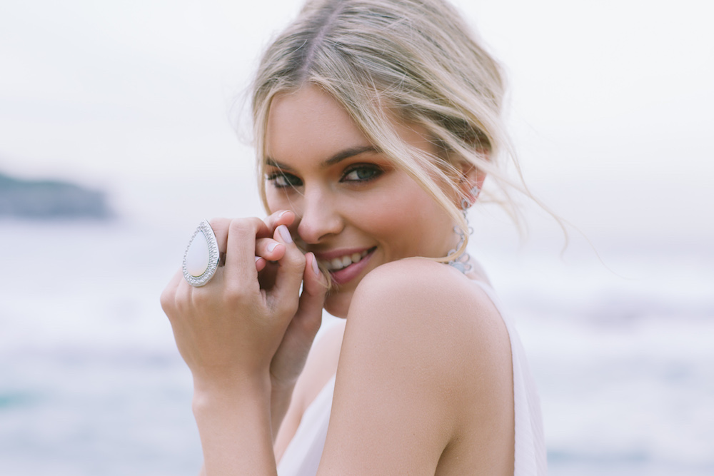 Opium Skies Bridal Jewellery Campaign by Samantha Wills | View on LOVE FIND CO.