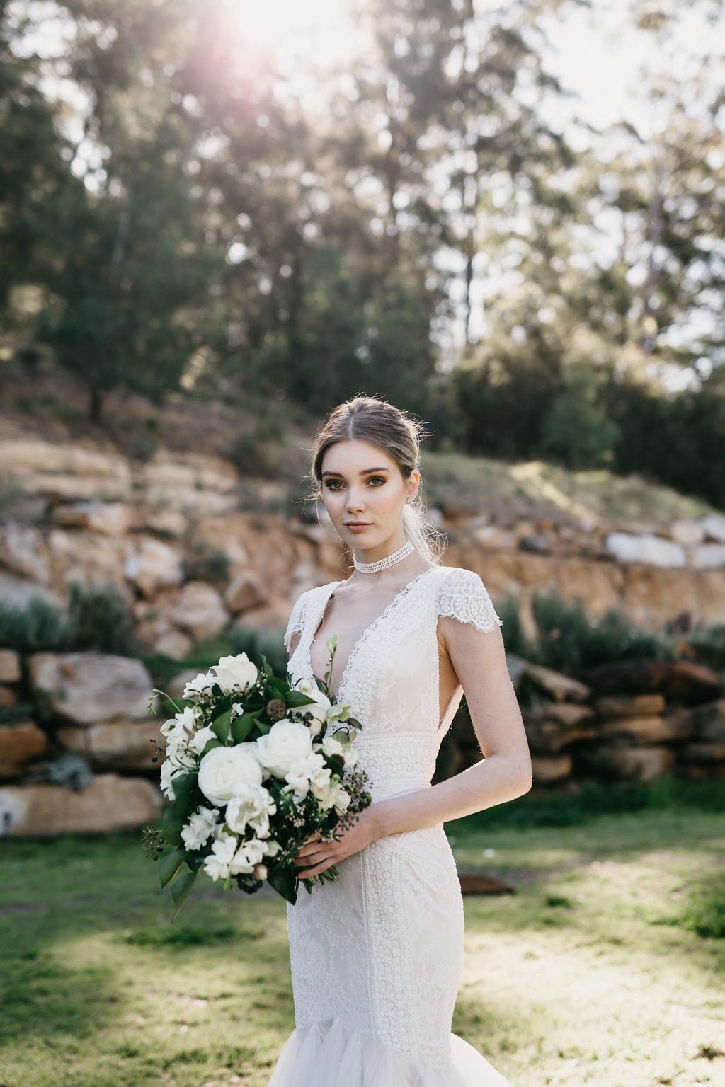 leah  The Leah gown is one of vintage romance with an enchanted bohemian spirit featuring its clean lines that sculpts the feminine body, made from pure silk with a mixture of textured laces & a full tulle skirt.